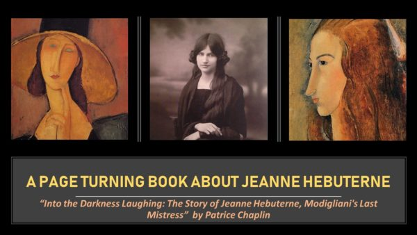 A book about Modiliani's greatest love Jeanne Hébuterne
