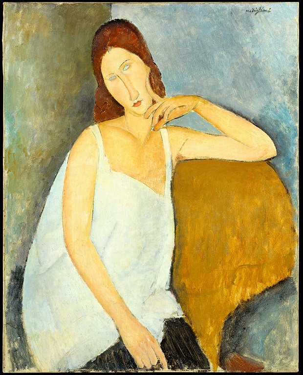 Modigliani Portrait of Jeanne Hébuterne
