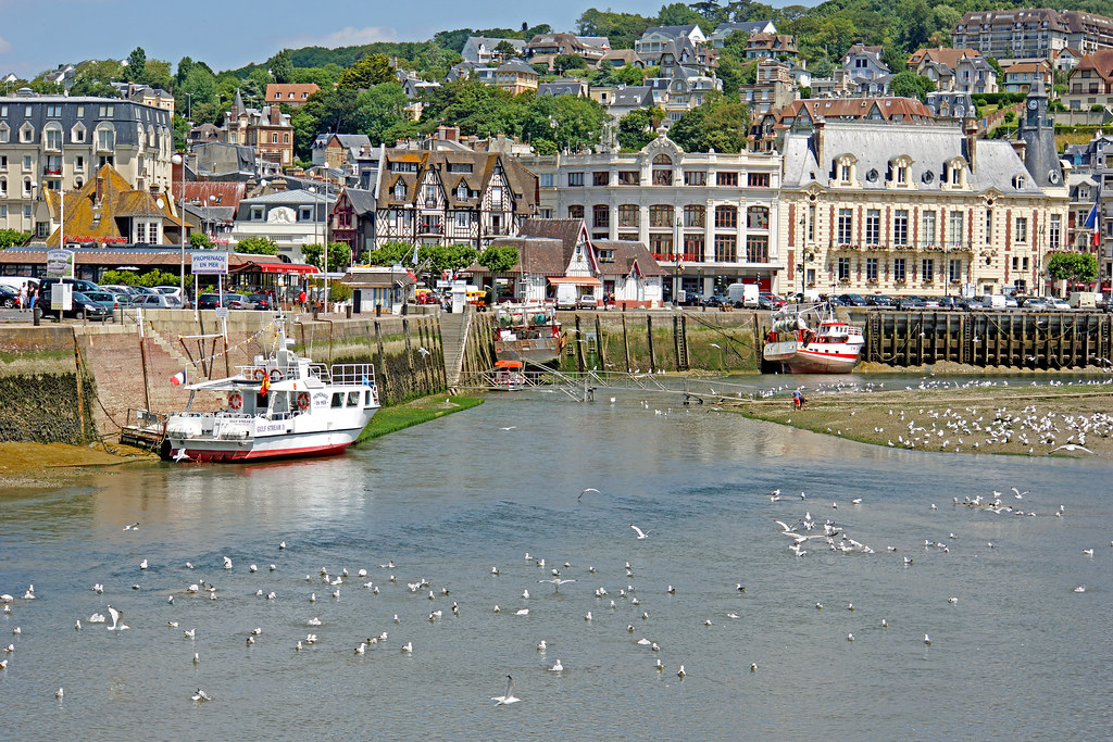 Trouville in the Normandy Region