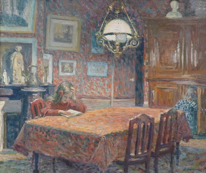 Henri Lebasque Painting - Pointillism
