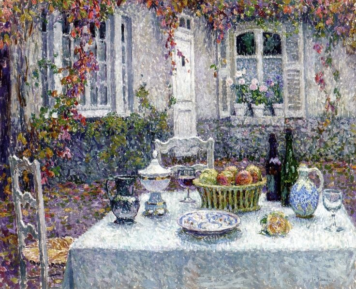 Henri Le Sidaner painting