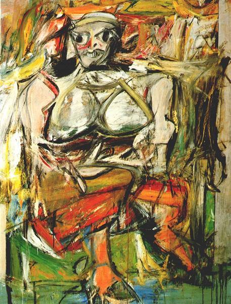 Willem de Kooning painting