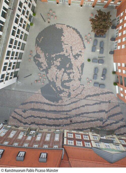 Picassoplatz in Munster, Germany
