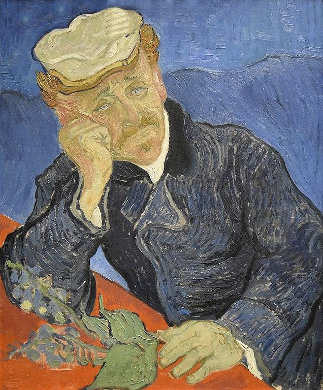 Musee D'Orsay: Van Gogh Portrait of Dr. Gachet (1889)