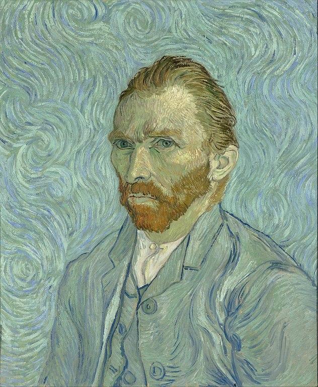 Musee D Orsay: Van Gogh Self Portrait 1889