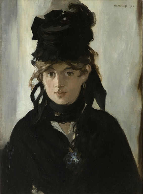 Edouard Manet Portrait of Berthe Morisot
