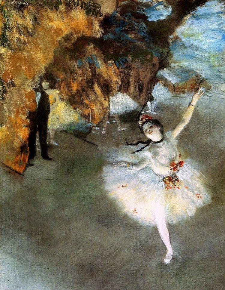 The Star (1878) - Edgar Degas Art