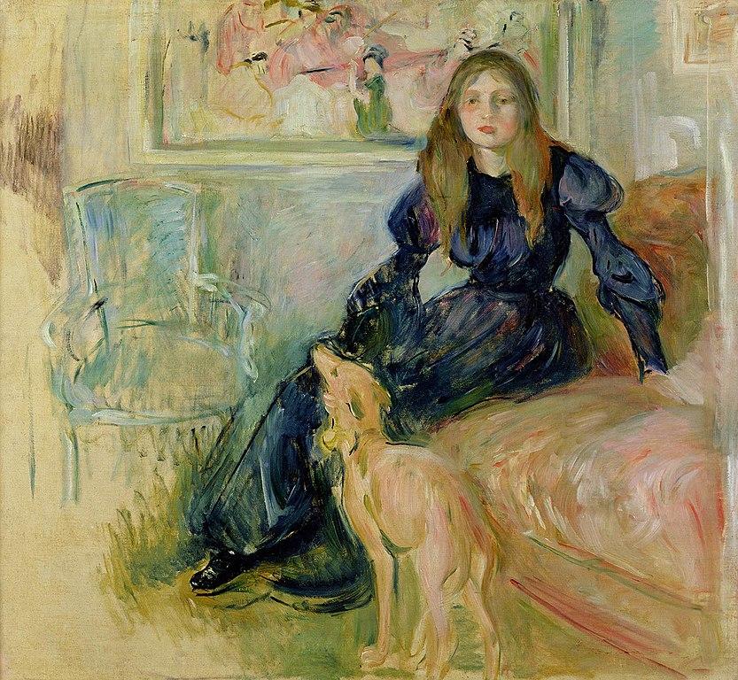 Berthe Morisot Portrait of her daughter, Julie Manet