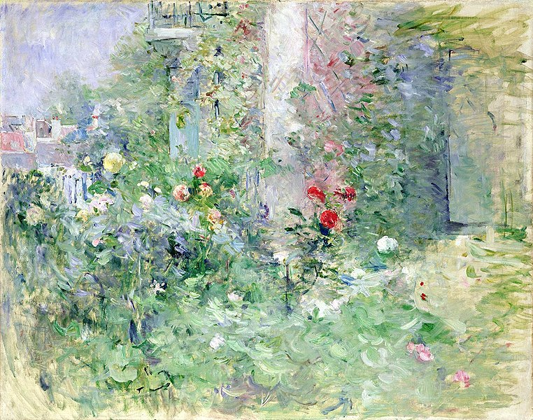 Berthe Morisot Flower Paintings at the Musee Marmottan Monet