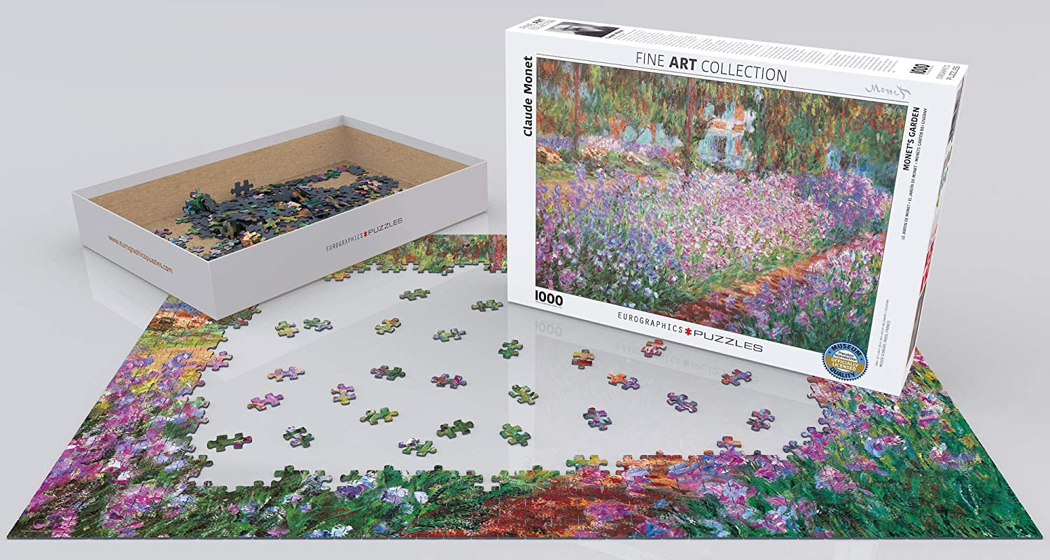 Eurographics jigsaw puzzle 1000 The Poppy Field by Claude Monet