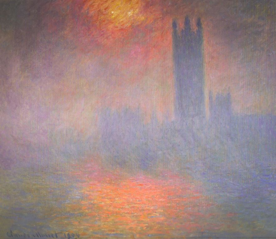 Famous Claude Monet Paintings in the Musee D Orsay