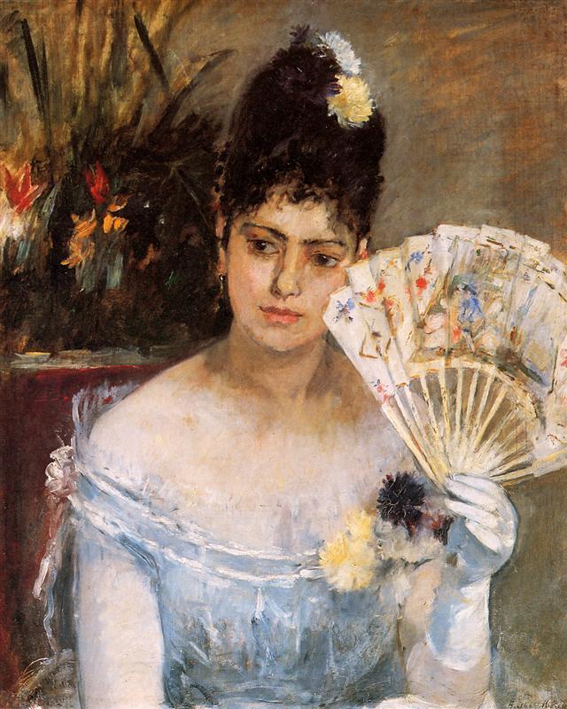 At the Ball - Berthe Morisot Painting - Musee Marmottan Monet