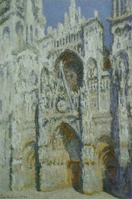 Rouen Cathedral - Claude Monet painting Musee D'Orsay