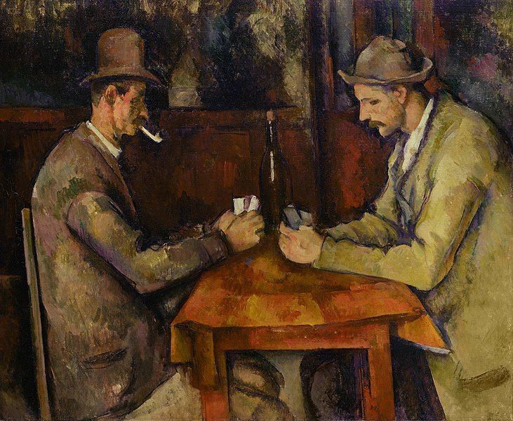Card Players - Famous artworks of Paul Cezanne