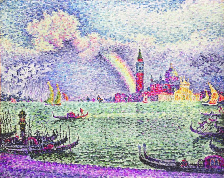 Paul Signac neo-impressionism painting