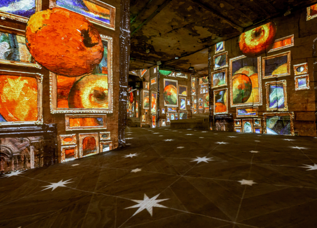 Cézanne: The Master of Provence at the Carrieres de Lumieres, Provence, France