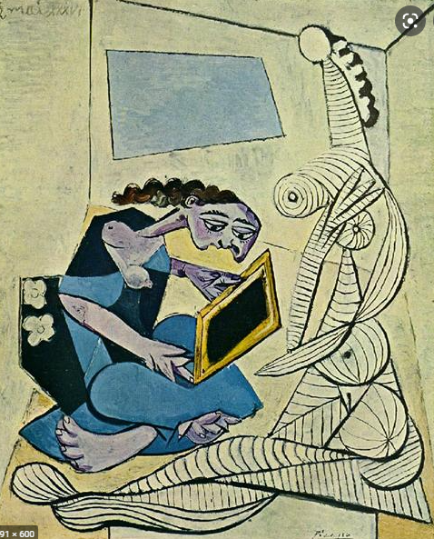 Woman in the interior, 1936 - Pablo Picasso Famous Painting